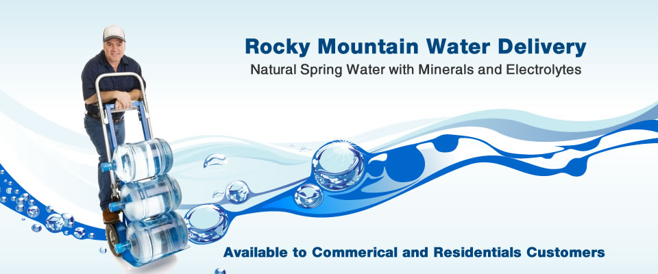 Rocky Mountain Water From The Rocky Mountain Springs To You